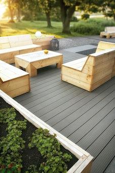 Aluminium terrasmontagesysteem