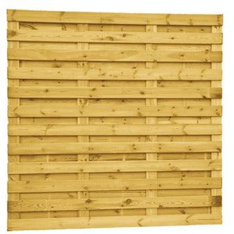 Plankenscherm grenen 23-planken